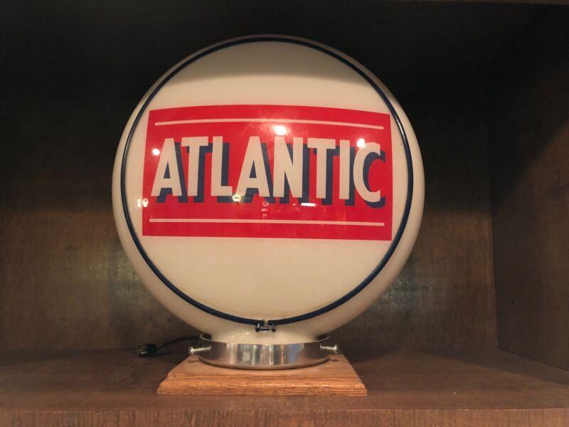 ATLANTIC  GAS GLOBE - all glass