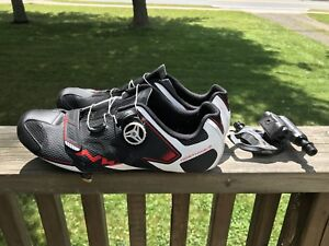 Northwave Sonic 2 Plus road shoes and 105 5800 pedals/cleats