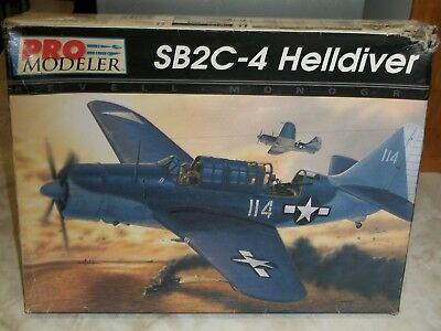 Used, Revell / Monogram 1/48 Scale SB2C-4 Helldiver for sale  New Orleans