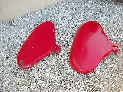 International 340 Utility Tractor Original Set Pair Ih Clamshell Fenders