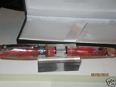 Monteverde  Fountain Pen Medium Nib  Napa Large Pen Barrel  Multi Color Finish 1
