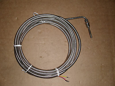 Type K Thermocouple Temp 0-1200 C Degrees 85mm Thread 18