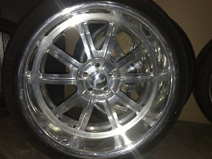 Bonspeed Bigblock Billet Wheels and Tyres