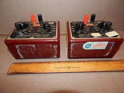 Cde Cornell-dubilier Electronics Cda 5 Decade Capacitor Cda5
