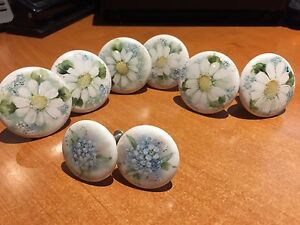Hand painted Drawer  Pulls