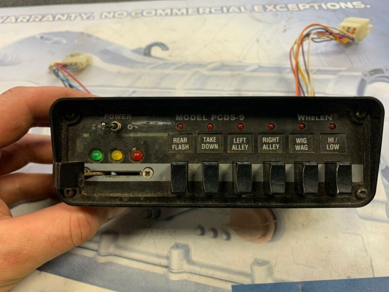 Whelen PCDS-9 Edge Lightbar Controller