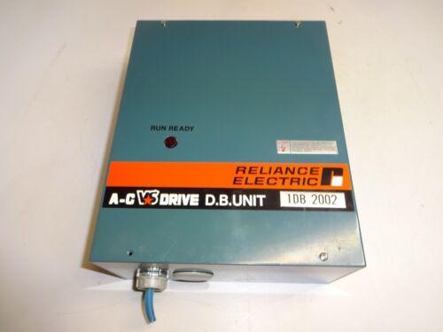 RELIANCE ELECTRIC 1DB2002 DYNAMIC BRAKING AC DRIVE