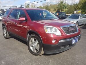 2011 GMC Acadia 124K  AWD 2 SUNROOF'S LEATHER SAFETIED
