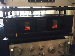 Sansui B 1000 stereo power amplifier.