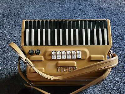 1960's Tiger Combo Accordion