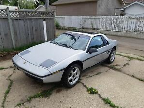 1985 Pontiac Fiero, 2.8L V6 with 4 speed manual transmission