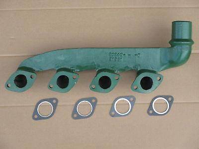 Exhaust Manifold Gaskets For John Deere Jd Backhoe 410b 410c Industrial 310