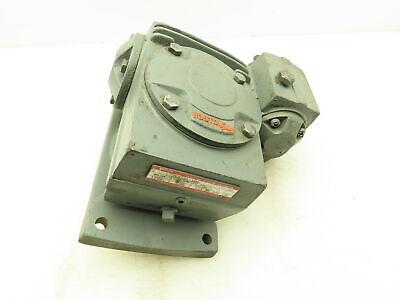 Boston Gear Vlw121100 Reductor Ratiomotor Gear Reducer 1001 17.5 Rpm Gearbox