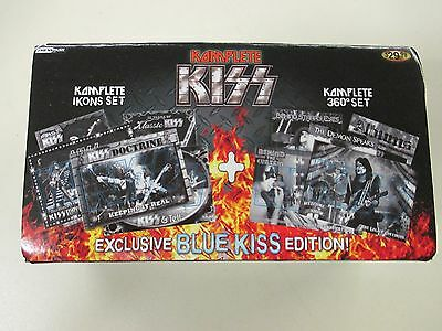 NEW Kiss Blue Edition Complete Icons & 360 Trading Card Sets Bonus Foil Insert