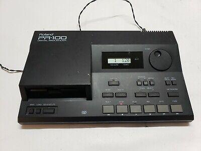 Roland PR-100 Digital Sequencer Tested Vintage Audio