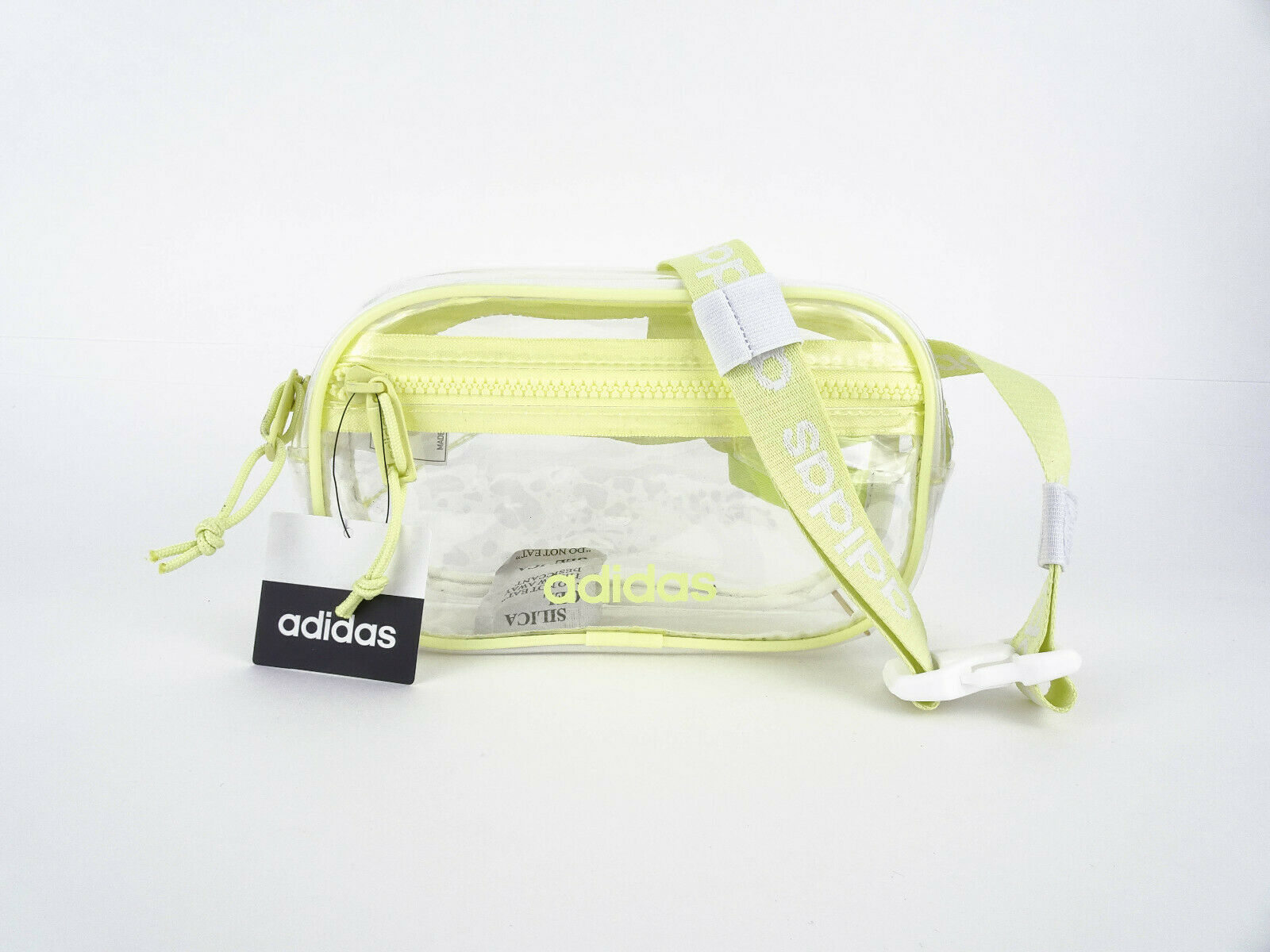 🔥 adidas Women's Originals Clear Waist Fanny Pack Yellow