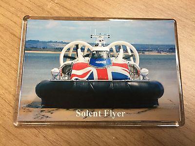 HOVERTRAVEL Hovercraft SOLENT FLYER Large Fridge Magnet Ferry Solent I.o.Wight A