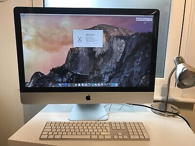 "27"" APPLE IMAC A1312 Genuine Apple keyboard 2011 12GB 2.7 GHz i5 AMD Radeon"