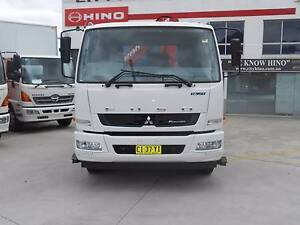 2013 Mitsubishi FM Fighter Truck with Crane // Priced to Sell Old Guildford Fairfield Area Preview