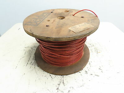 Belden 83556 Cable Wire 6 Cond 22awg 7x30 Tc Fep Ins Foil Braid Red Fep Jkt 500