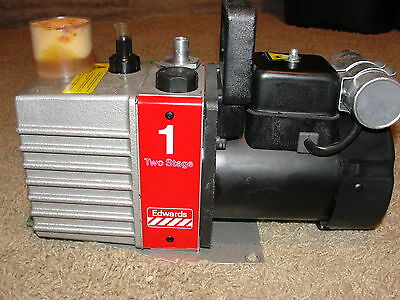 Boc Edwards 1 Two Stage High Vacuum Pump E2m-1