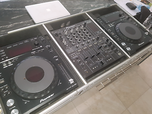 PIONEER CDJ850K X 2. DJM800. ROADCASE Woodville Charles Sturt Area Preview