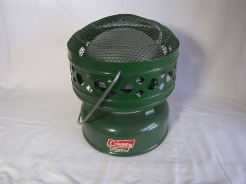 Vintage Green Coleman Fuel Catalytic Heater Model # 511A 5,000 BTU Dated 1968