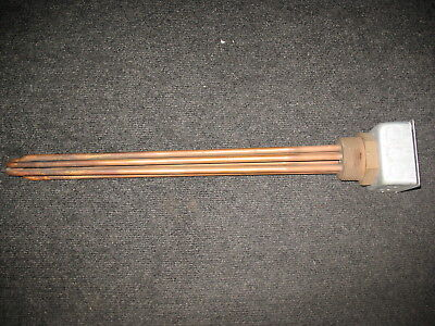 Nnb Watlow U6-39-10-1 480v 9kw 3 Phase Immersion Heater