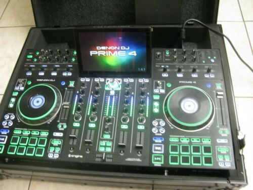 "Denon DJ Prime 4 - Standalone 4-Deck DJ System with 10"" Touchscreen"
