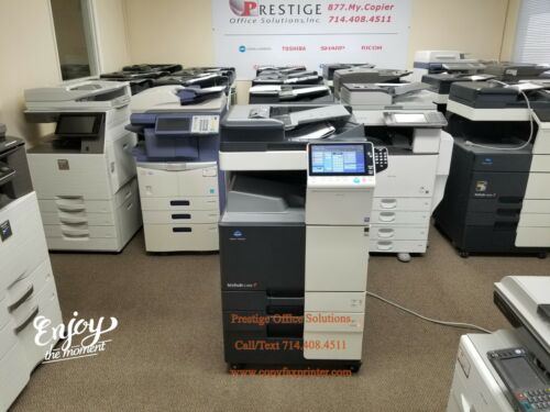 Konica Minolta Bizhub C308 Color Copier-printer-scanner. Meter Only 30k!