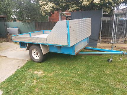 Dual quadbike trailer