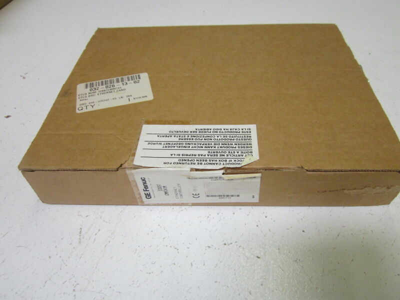 GE FANUC IC697CMM741M ETHERNET CONTROLLER *NEW IN BOX*