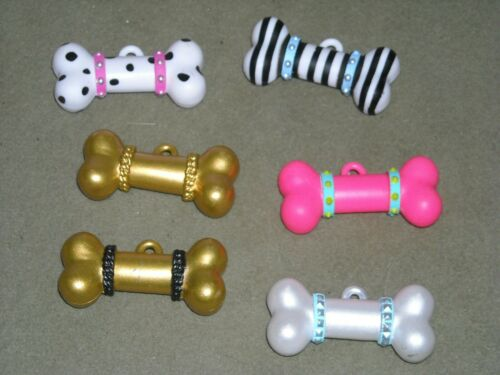 6 genuine MGA LOL surprise doll pet accessories bones stripe polka dot gold pink