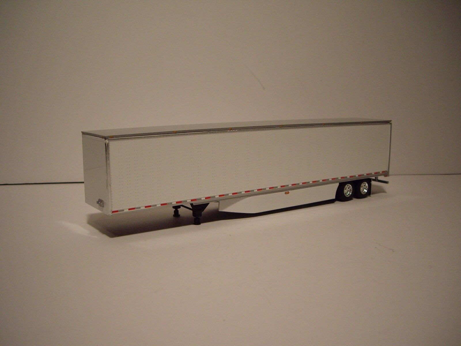 DCP 1/64 RED AND BLACK WESTERN STAR 5700XE W/T 68'' SLEEPER AND DRY VAN TRAILER 3