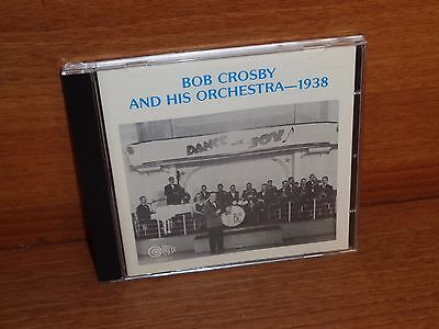 BOB CROSBY & HIS ORCHESTRA : 1938 : CD Album : CIRCLE CD :  CCD 1