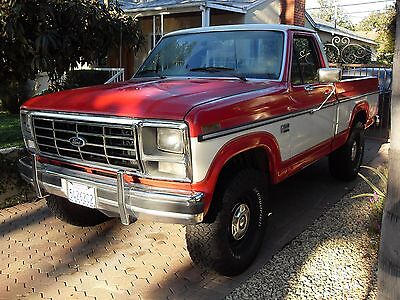 1985 ford truck used ford f 150 for sale in glendale california. Black Bedroom Furniture Sets. Home Design Ideas