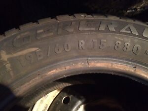 195 60 R15 winter tires.