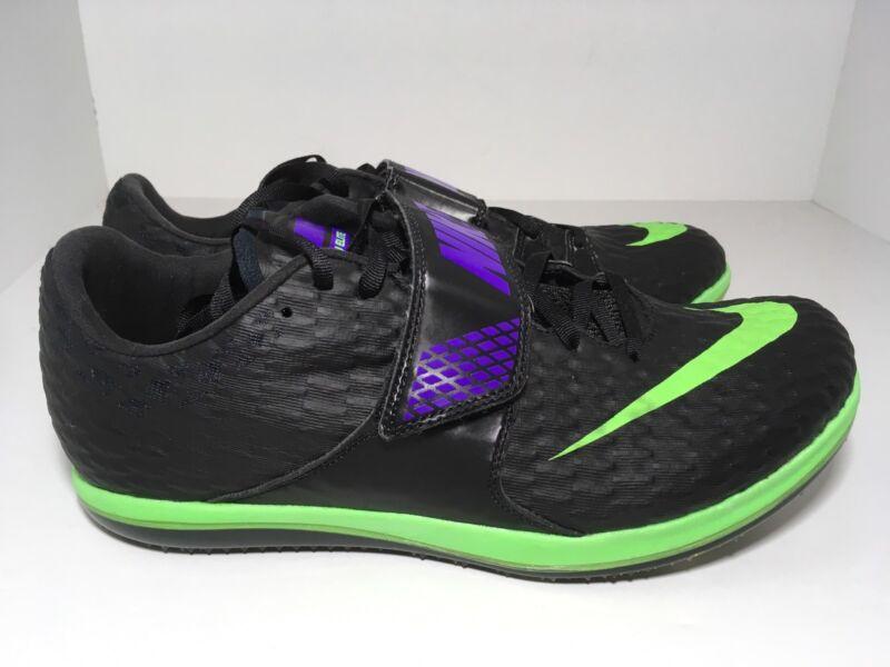 Nike High Jump Elite Track & Field Black Green 806561-035 Men