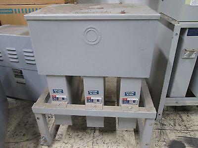 Cornell Dubilier Capacitor Assembly Ics33075d33 75 Kvar 240v 60hz 3ph Used