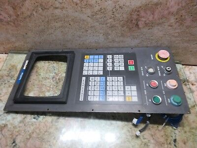 Brother Cnc Vertical Mill Main Operator Panel Display Control Monitor Cover