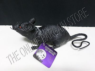 Halloween Spooky Scary Creepy Noise Making Squeaking Rubber Rat Mouse Prop Decor (Halloween Noises Scary)