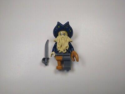 Lego Davy Jones Pirates of the Caribbean Sword POTC Authentic Minifig 4184 g57