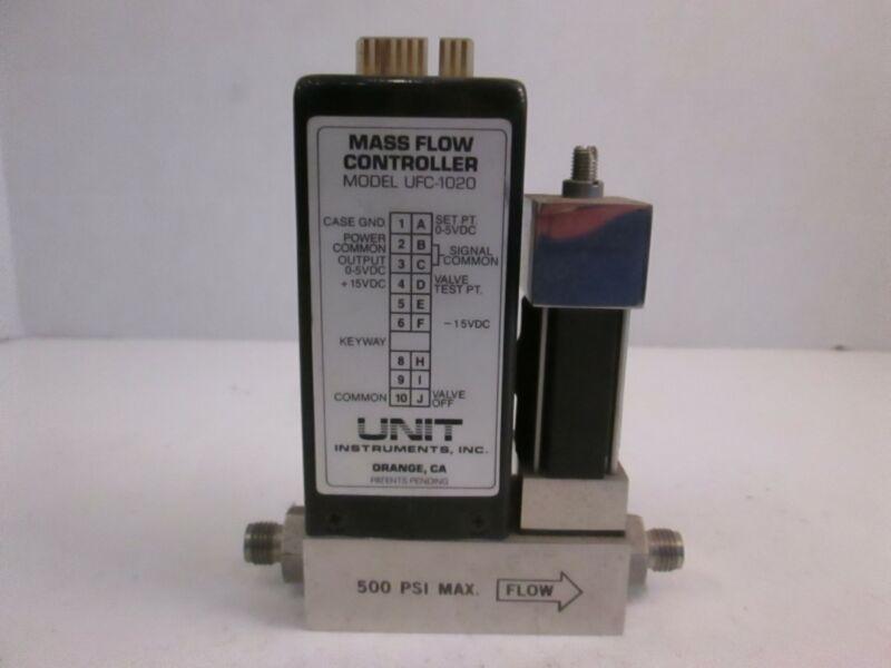 Unit UFC-1020 Mass Flow Controller MFC, 10%H2/N2, 10 SCCM