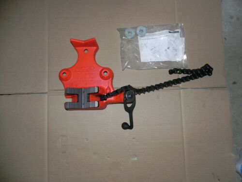 "NEW RIDGID # 40215,  BC810A, 1/2"" to 8"", Top Screw Bench Chain Vise"