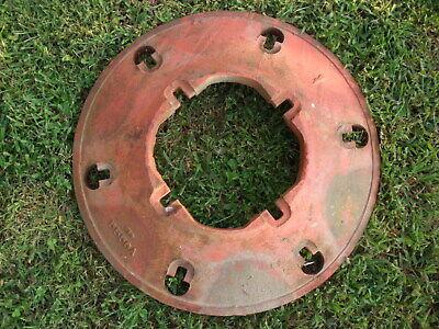 Case Rear Wheel Weight 5556a