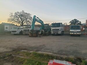 Excavation work wet and dry hire