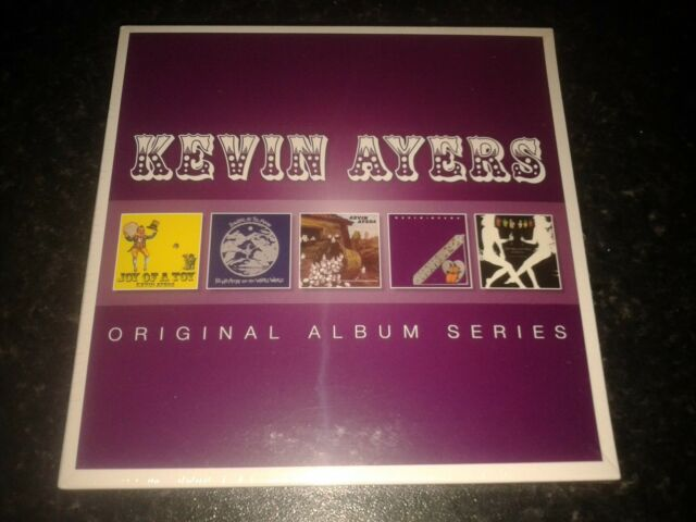 KEVIN AYERS - ORIGINAL ALBUM SERIES 5 CD SET NEW SEALED 2014 WARNER