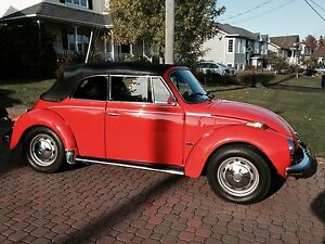 1973 VW Beetle Convertible