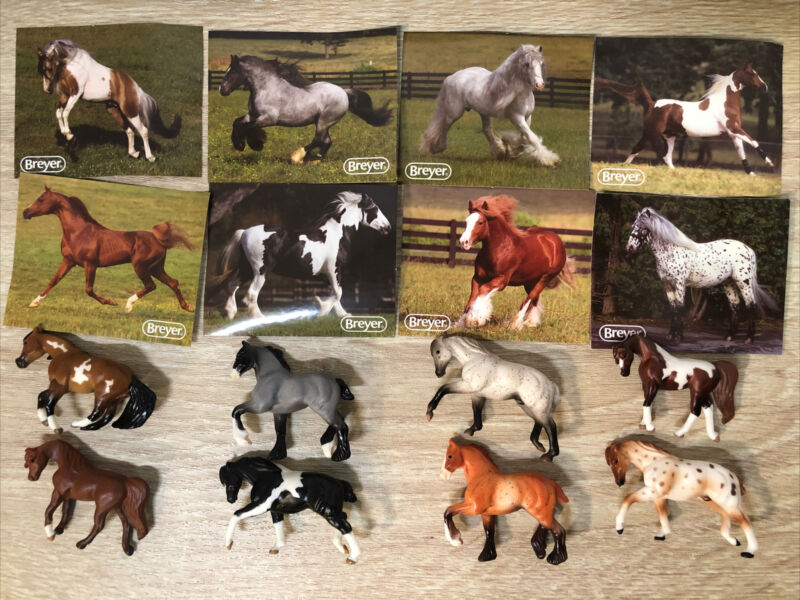 Breyer Mini Whinnies Surprise Series 2 Lot of 8 Horses New Opened Blind Bags