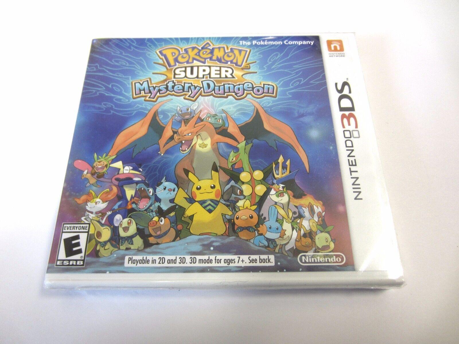 Купить Nintendo - Pokemon Super Mystery Dungeon for Nintendo 3DS & 2DS New & Sealed